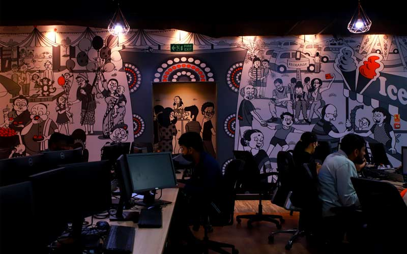 coworking space in Old madras road bangalore